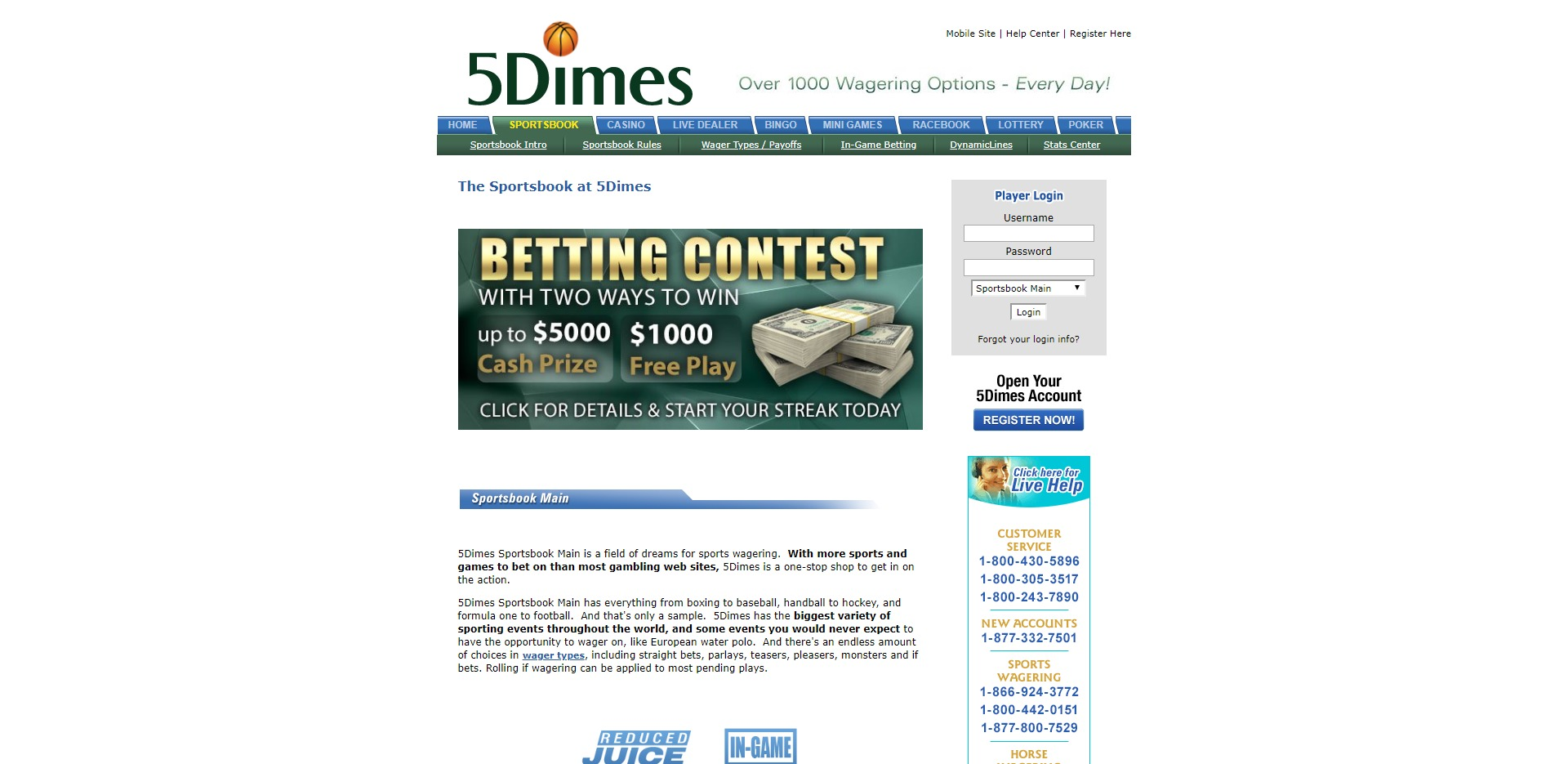 5dimes Payouts
