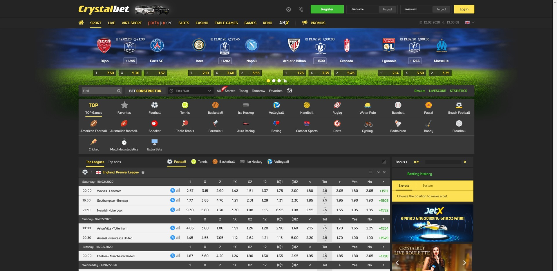 CRYSTALBET Preview