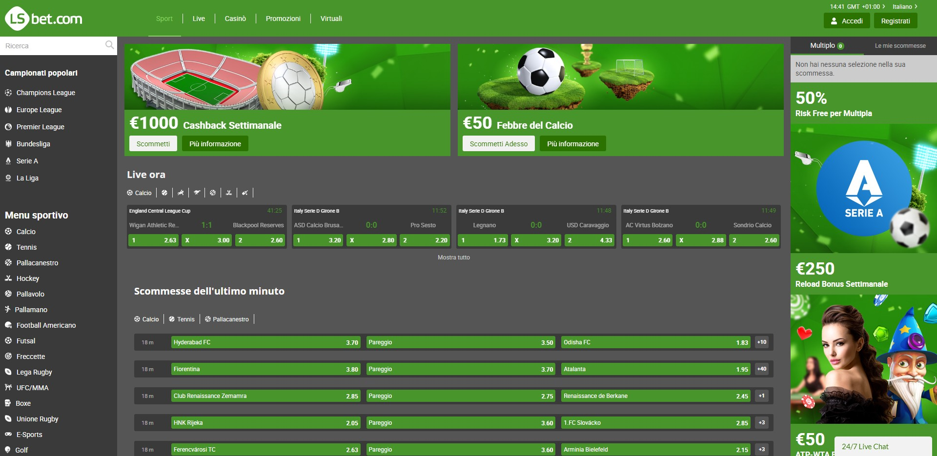 LSBET Preview