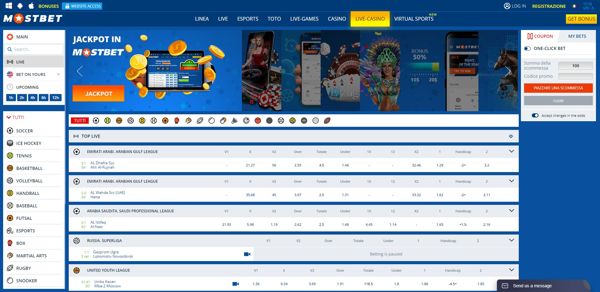 MOSTBET Preview