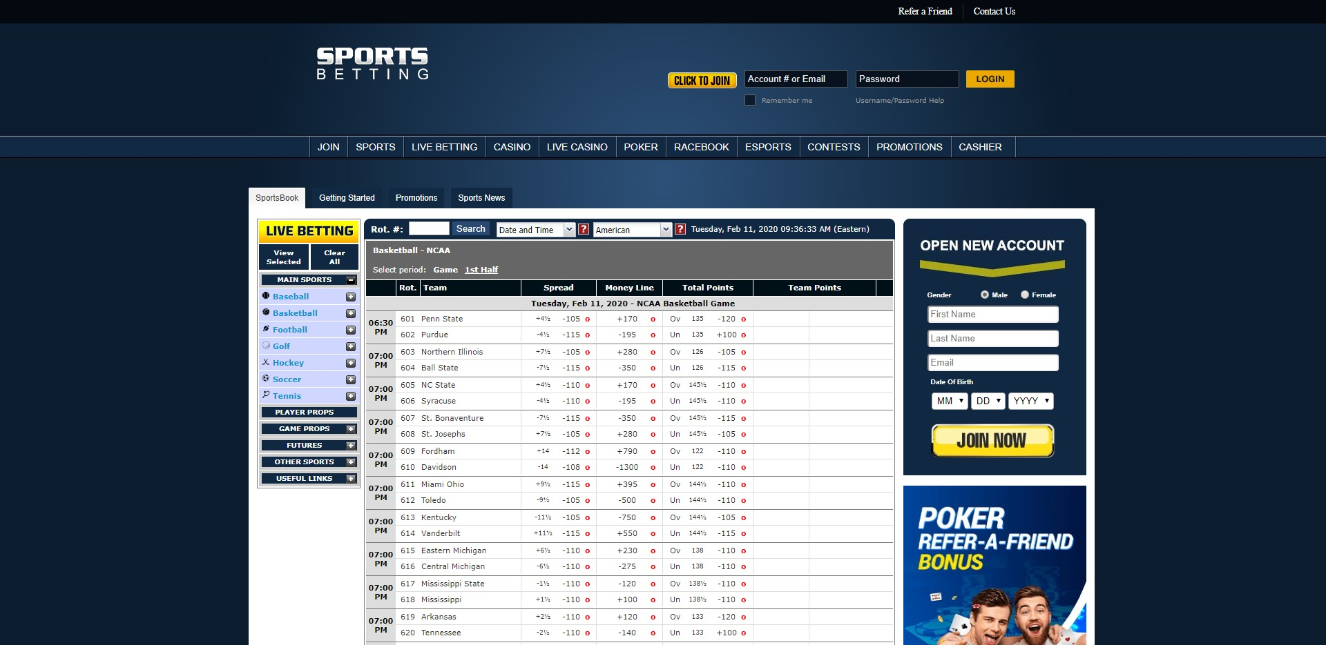 SPORTSBETTING.AG Preview